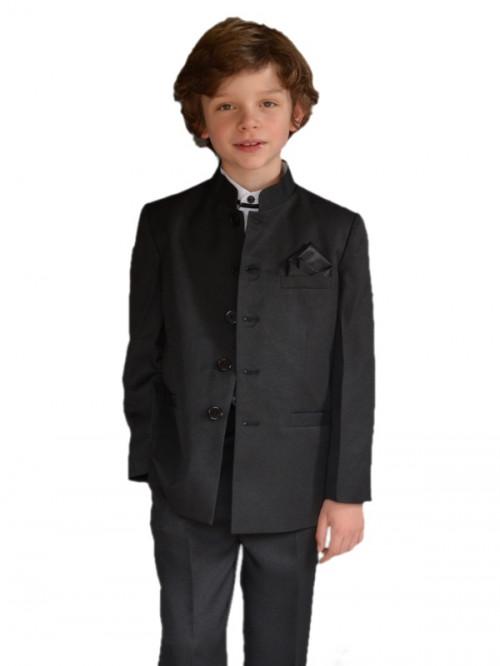 costume mao garon dhonneur 5 pices black - Costume Col Mao Mariage