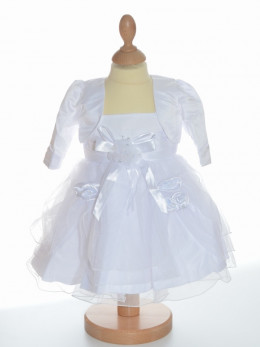 Robe de baptême blanche LAUReNE