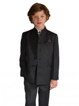 Costume MAO garçon d'honneur 5 pièces  BLACK