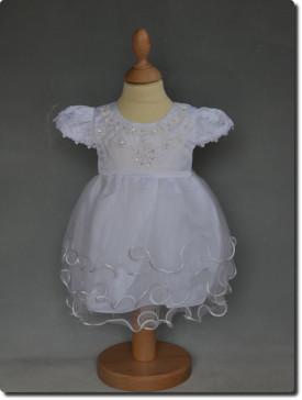 Robe de baptême blanche fille ROMY