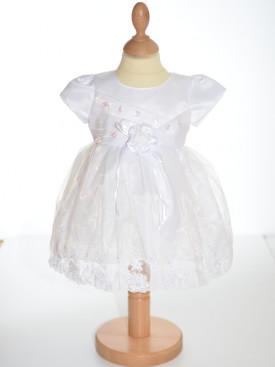 Robe de baptême blanche fille NOUMéA