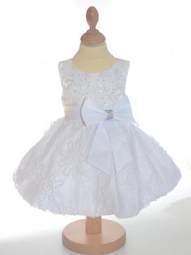 Robe cérémonie fille blanche JULIETTE