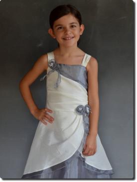 Vêtement pour demoiselle d'honneur, fabrication française, robe enfants