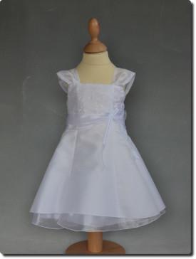 Robe de baptême blanche sobre YAELLE