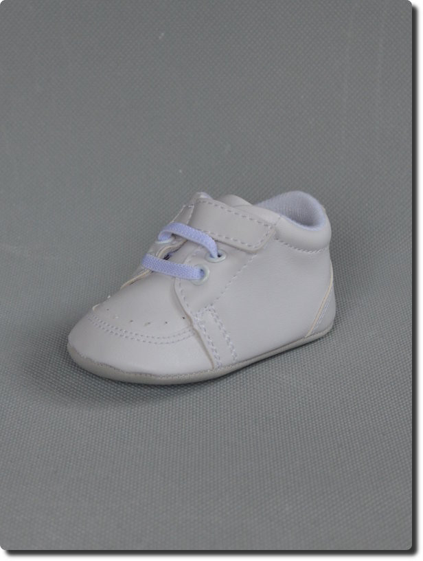 6a6ddb440a43e Chaussure blanche de baptême bébé garçon Harry