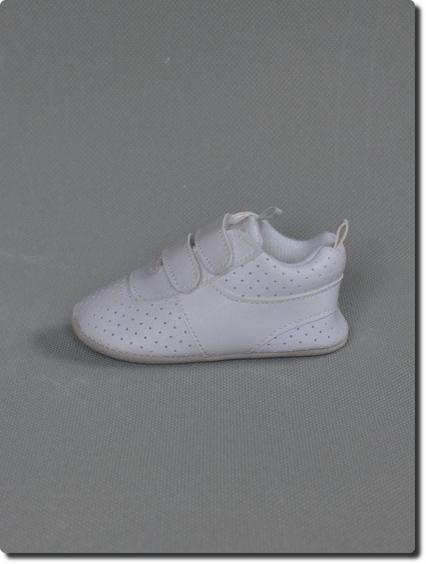 chaussure blanche pour bapt me gar on. Black Bedroom Furniture Sets. Home Design Ideas