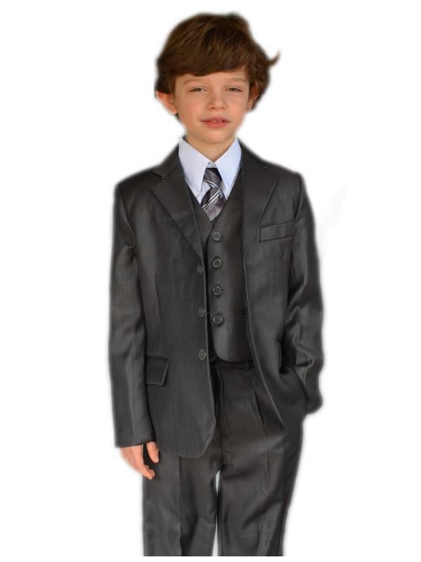costume gar on mariage gris 5 pi ces petit prix. Black Bedroom Furniture Sets. Home Design Ideas