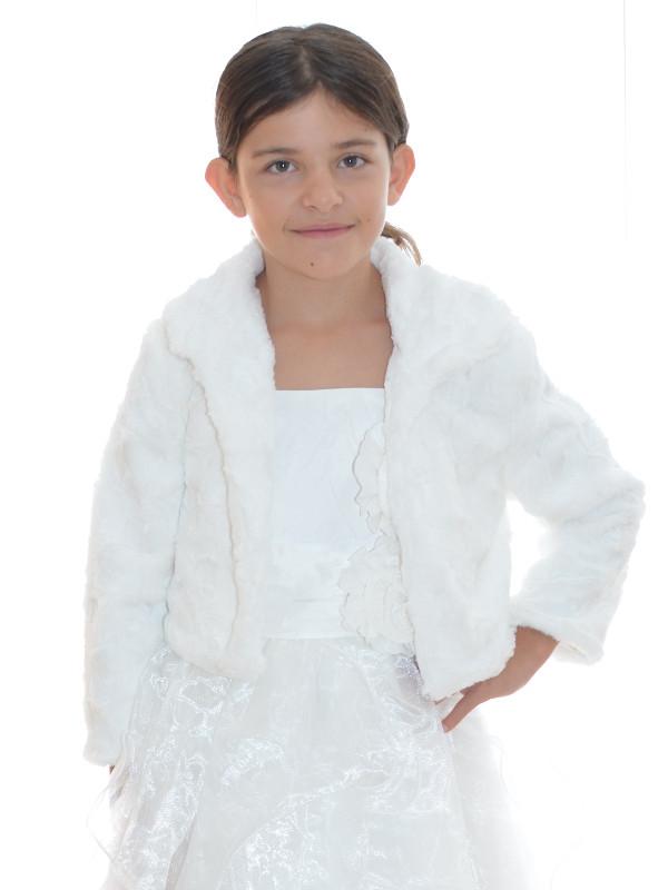 Veste de ceremonie pour petite fille