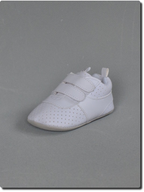 Basket blanche de cérémonie garçon