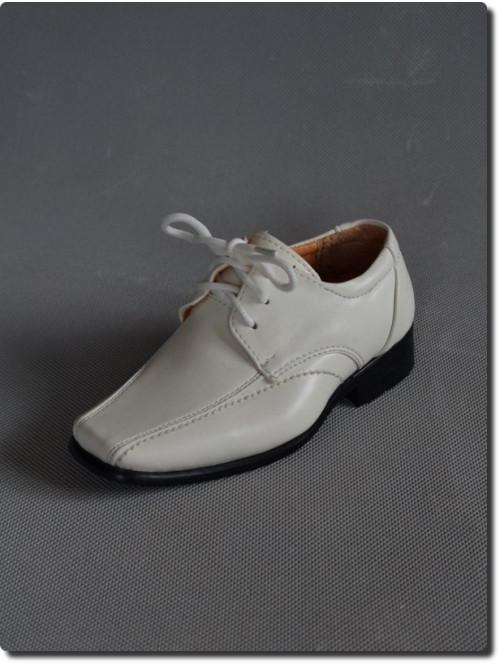 Chaussure de cérémonie ivoire garçon