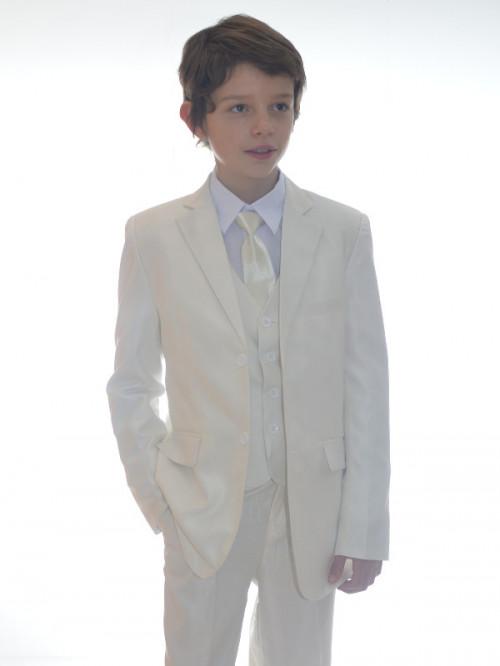Costume enfant 5 pièces couleur ivoire RICHARD