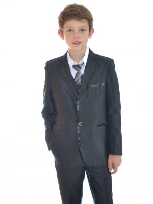 Costume enfant pour cérémonie noir MARCO