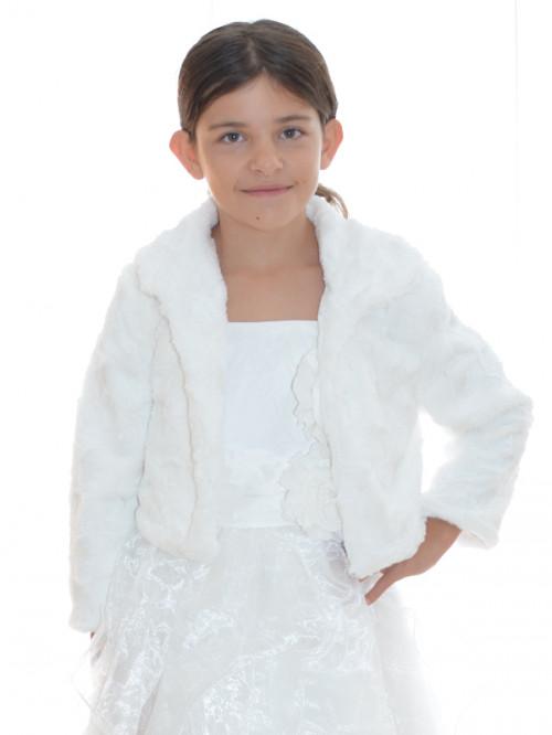 Veste pour demoiselle d'honneur, manteau chaud SELMA