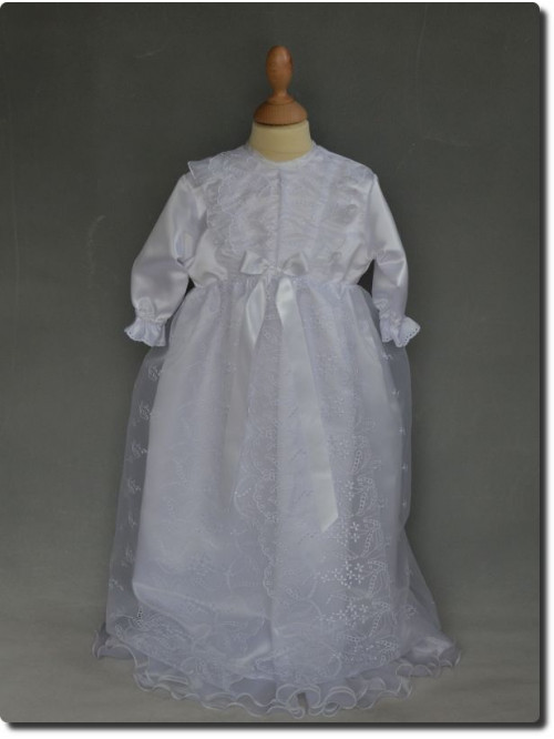 Robe de baptême longue  VALENTINE