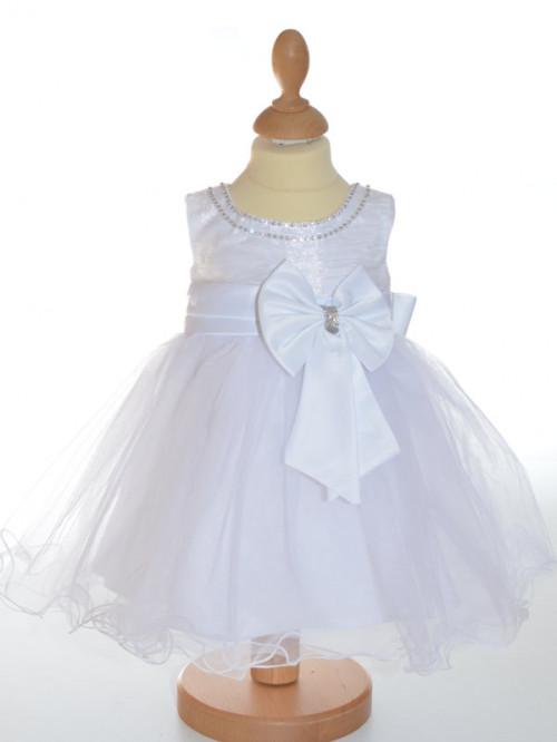 bec7d7cd01de5 robe de bapteme de princesse petite fille NINA