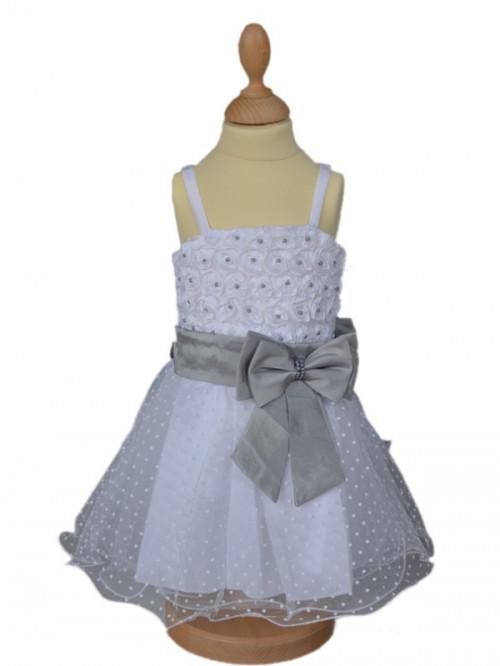 Robe de mariage bébé fille AGATHA