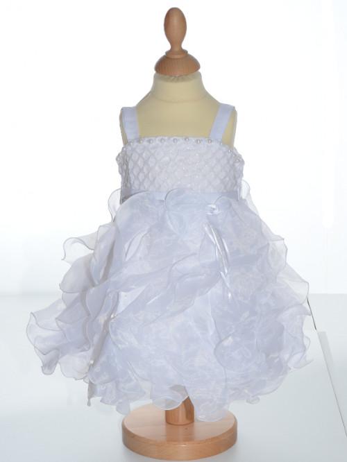 robe de baptême blanche bébé GRACE