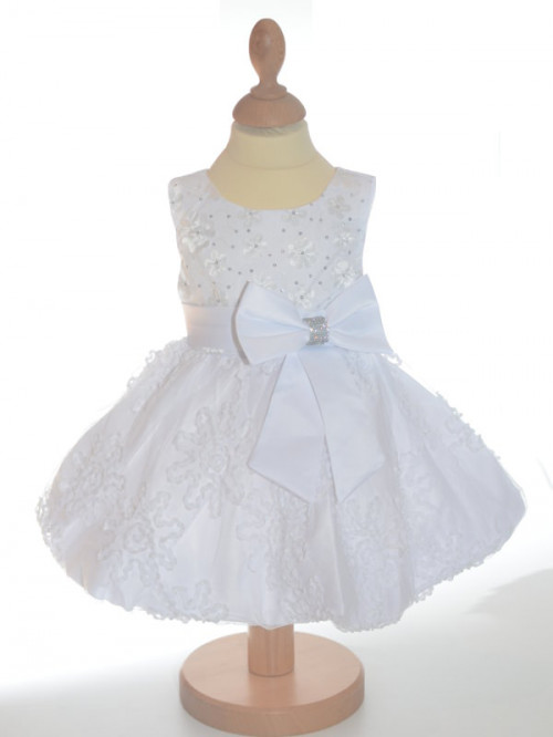 Robe de ceremonie fille blanche JULIETTE