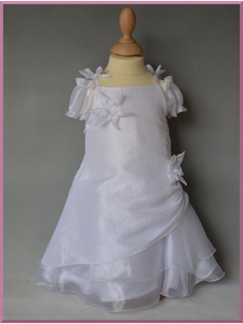 Vêtement de cérémonie baptême, robe longue de baptême LOUNA
