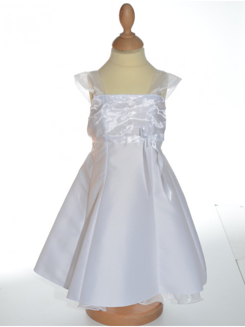 Robe de baptême blanche fille PALOMA