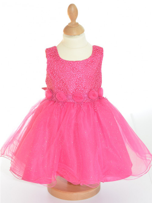 Robe De Ceremonie Bebe Rose Pas Chere