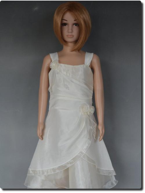 Robe de cérémonie fille ivoire Alicia