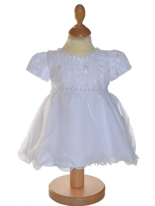 robe de baptême traditionnel blanche Gabriella