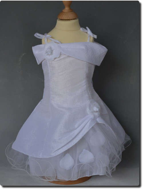 Robe de baptême enfant, ROMANE, robe de cortège pour fille