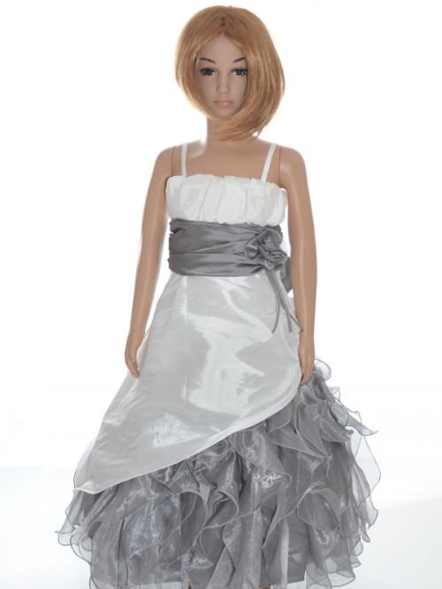 robe de c r monie fille pour enfants grise pas ch re lolita. Black Bedroom Furniture Sets. Home Design Ideas