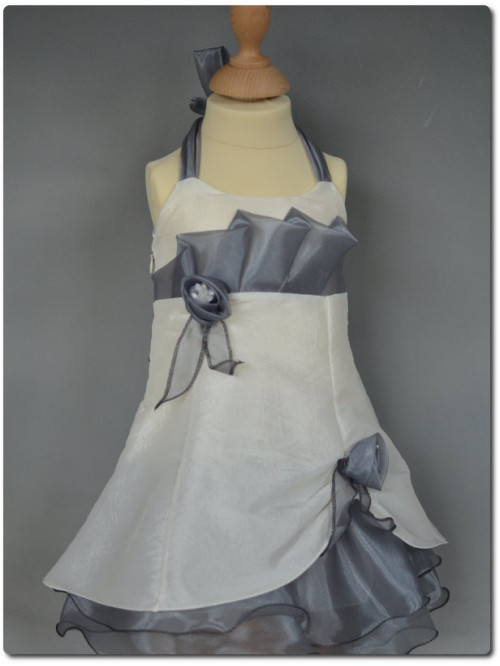Robe de cérémonie bébé fille CANELLE