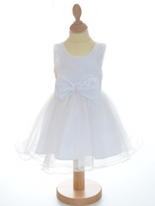 Robe de baptême blanche fille STELLA