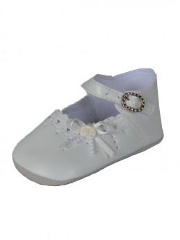 Chaussure de cérémonie ivoire pour baptême