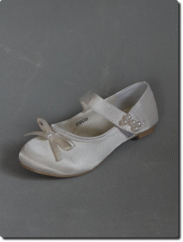 Ballerine de cérémonie ivoire fille LILLY