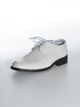 Chaussure de cérémonie blanche garçon THOMAS