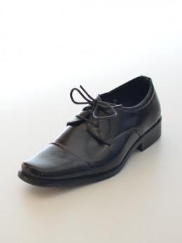 Chaussure noire pour garçon habillé