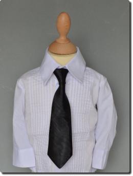 Cravate de cérémonie enfant noir