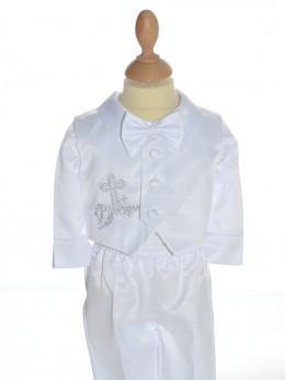 Vêtement de baptême ALEXANDRE, ensemble pour baptême garçon à petit prix,