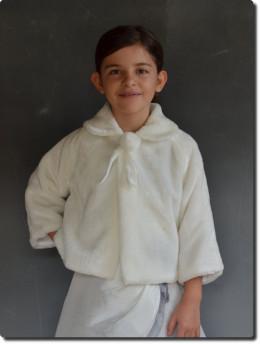 Veste fourrure pas chère pour cérémonie enfants