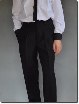 pantalon noir de cérémonie garçon