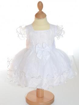 Robe de baptême fille blanche CASSANDRE