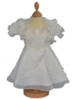Robe de cérémonie petite fille ivoire CARITA