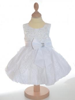 Robe de ceremonie fille blanche JULIETTE