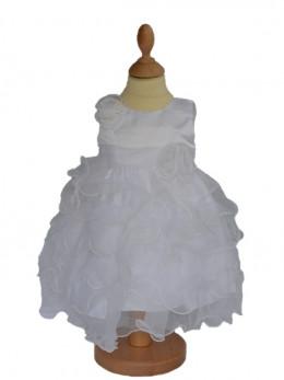 Robe de cérémonie pour baptême petit prix CASSANDRA