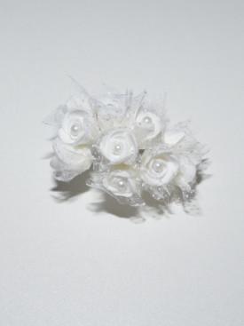 Lot pic fleurs pour cheveux, accessoires cheveux pour cérémonie