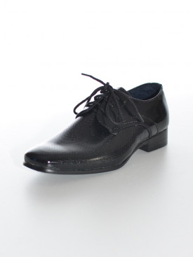 d1d4f4f74724d Chaussure noir cérémonie garçon ADRIEN