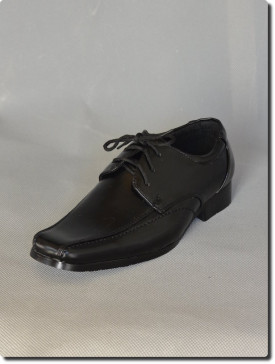 Chaussures de cérémonie garçon noire communion