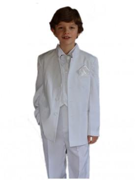 Costume Garçon Pas Couleur MariageCortège Enfant Blanche Cher wZuPXilOkT