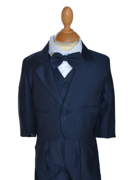 costume bleu marine bébé DIEGO
