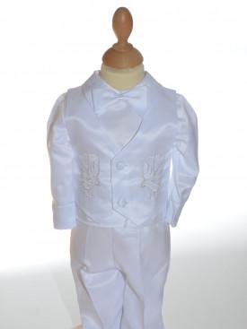 design de qualité 0bfb5 b9368 Tenue de baptême garçon, vêtement baptême garçon