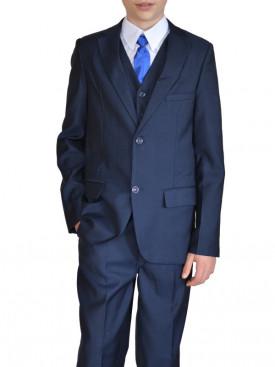 costume garçon cérémonie bleu marine Alban 860a9edfb58